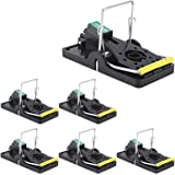 USKICH 6 Pack Mouse Trap Mice Trap That Work Human Power Mouse Killer Mouse Catcher Quick Effective