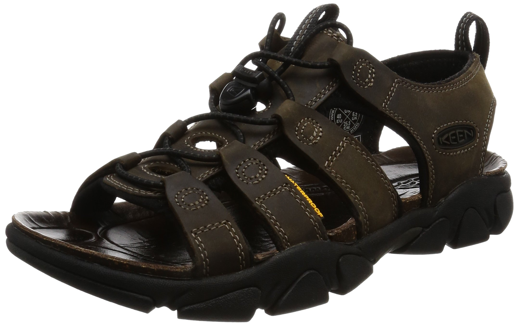 KEEN Men's Daytona Sandal,Black Olive,12 M US