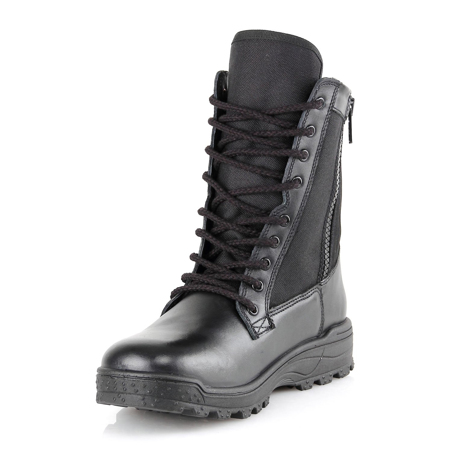 BURG890Z.8i Flex Trainer Duty Boot with Side Zipper - Light Women Weight for Men and Women Light B07912VNBF 41 EU (US Mens 8.5 / Ladies 9.5 - 10)|Black 0dc69b