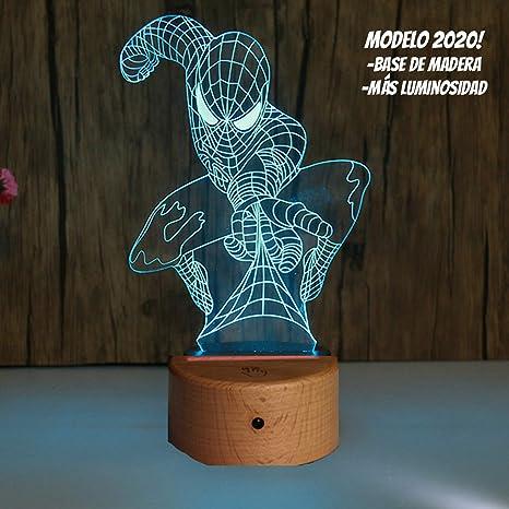 RecontraMago Lamparas de Mesa de Noche - Madera 2020 Modelo Led ...