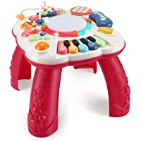 baccow Baby Toys 6 to 12-18 Months, Musical Activity Table for 1 Year Old Boys Girls Gifts Toddler Infant Toys (Size 11…