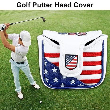 waysad Cabezas para Golf Palos Golf Putter Cubierta De ...