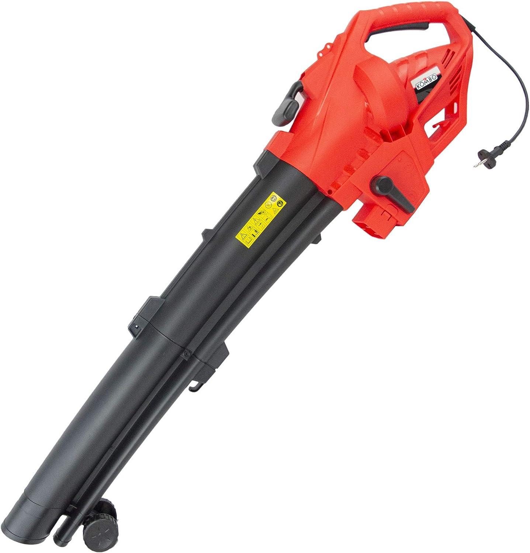 Media Wave Store – Kombo Soplador aspirador triturador hojas 471643 eléctrico 2400 W con bolsa: Amazon.es: Hogar