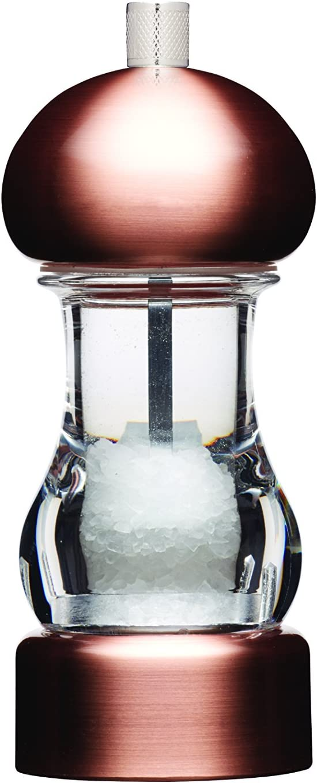 5.75 MasterClass Clear Capstan Copper-Effect Pepper Mill 14.5 cm
