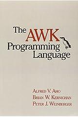 The AWK Programming Language Paperback