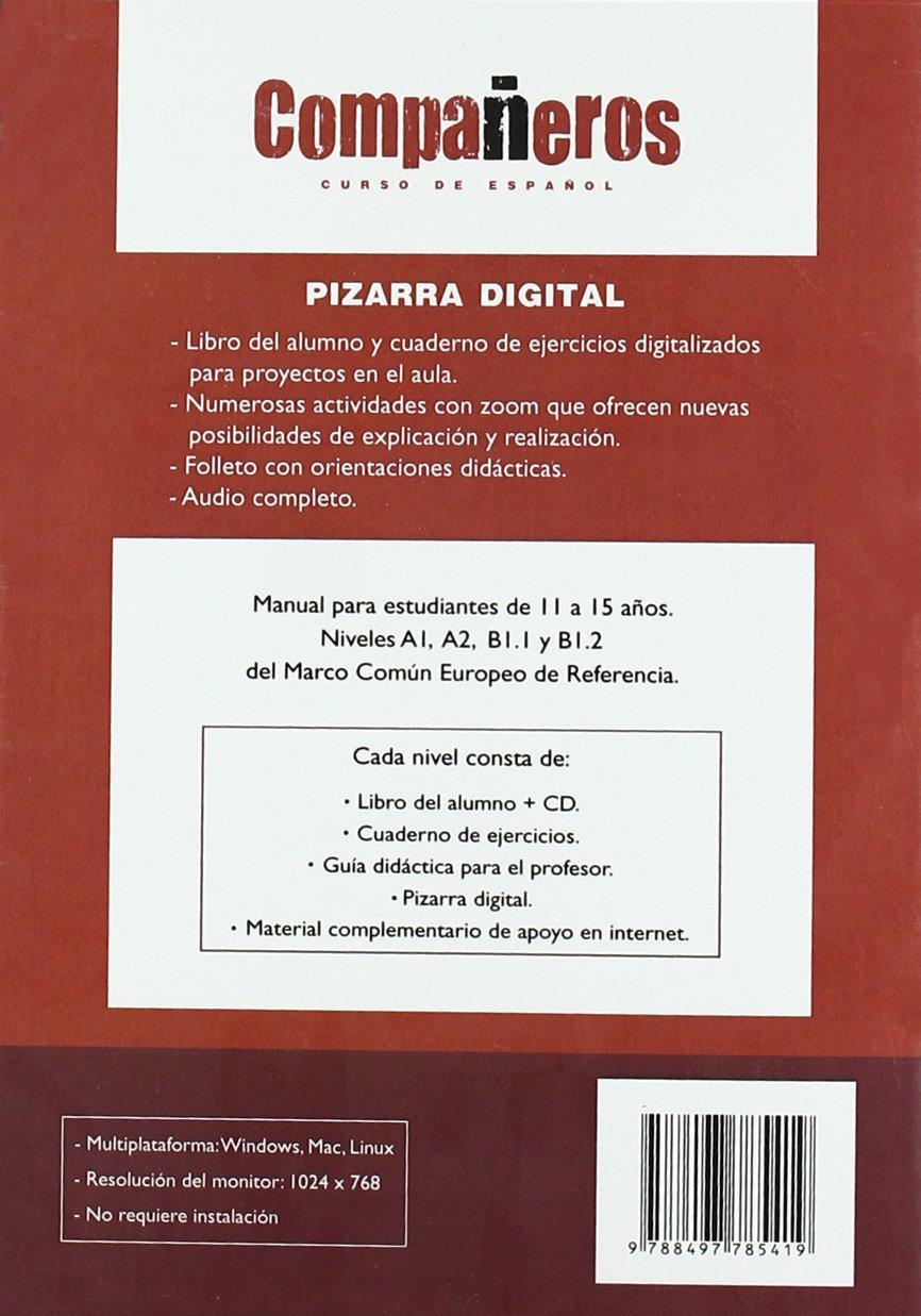 Companeros. Curso de espanol. 1 (A1) Pizarra digital (Libro ...