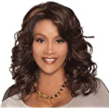 Vivica A. Fox GOLDIE-V New Futura Fiber, Deep Lace Front Wig in Color 1