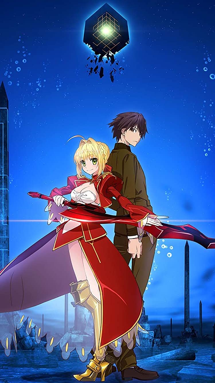 Fate Iphone8 7 6s 6 750 1334 壁紙 セイバー 岸浪ハクノ Fate Extra