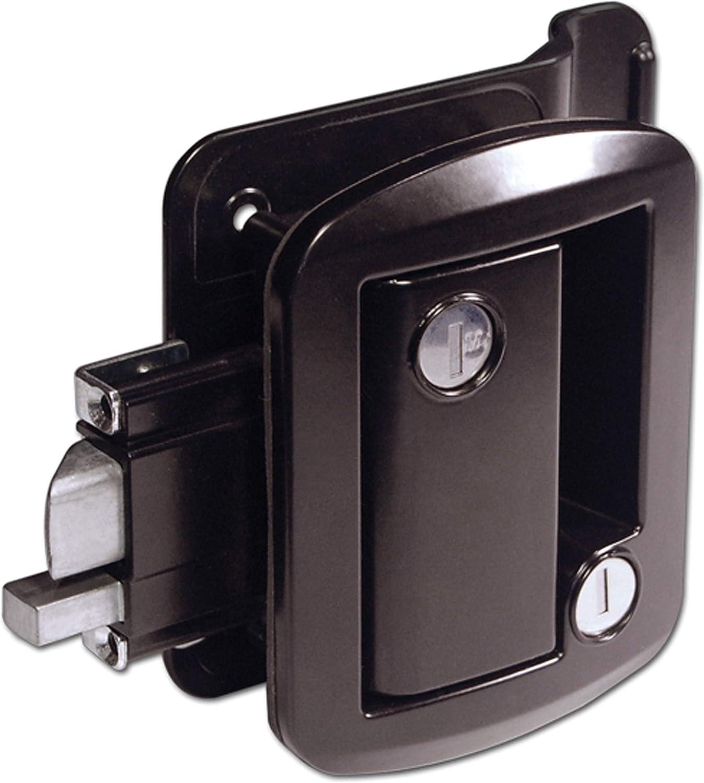 Creative Products Group Ttl-43610-2006-1Pk Rv Door Lock W/Deadbolt Black