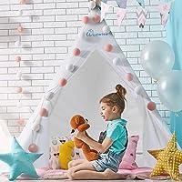 WolfWise Tienda de Campaña Infantil,Tienda Para Niños,Tienda India Niña,Tienda Indios