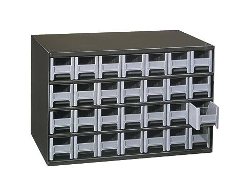 Amazon.com: Akro-Mils 19228 28 Drawer Steel Parts Storage Hardware ...
