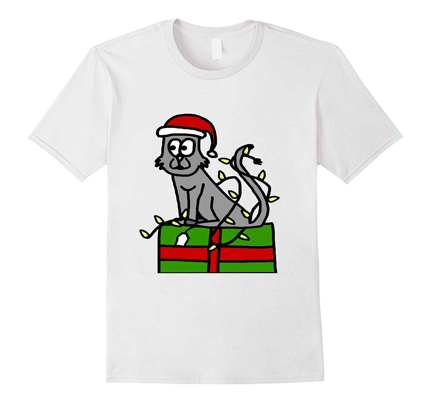 CHRISTMAS GIFT AND CAT T SHIRTS FOR MEN WOMEN BOYS GIRLS-CL