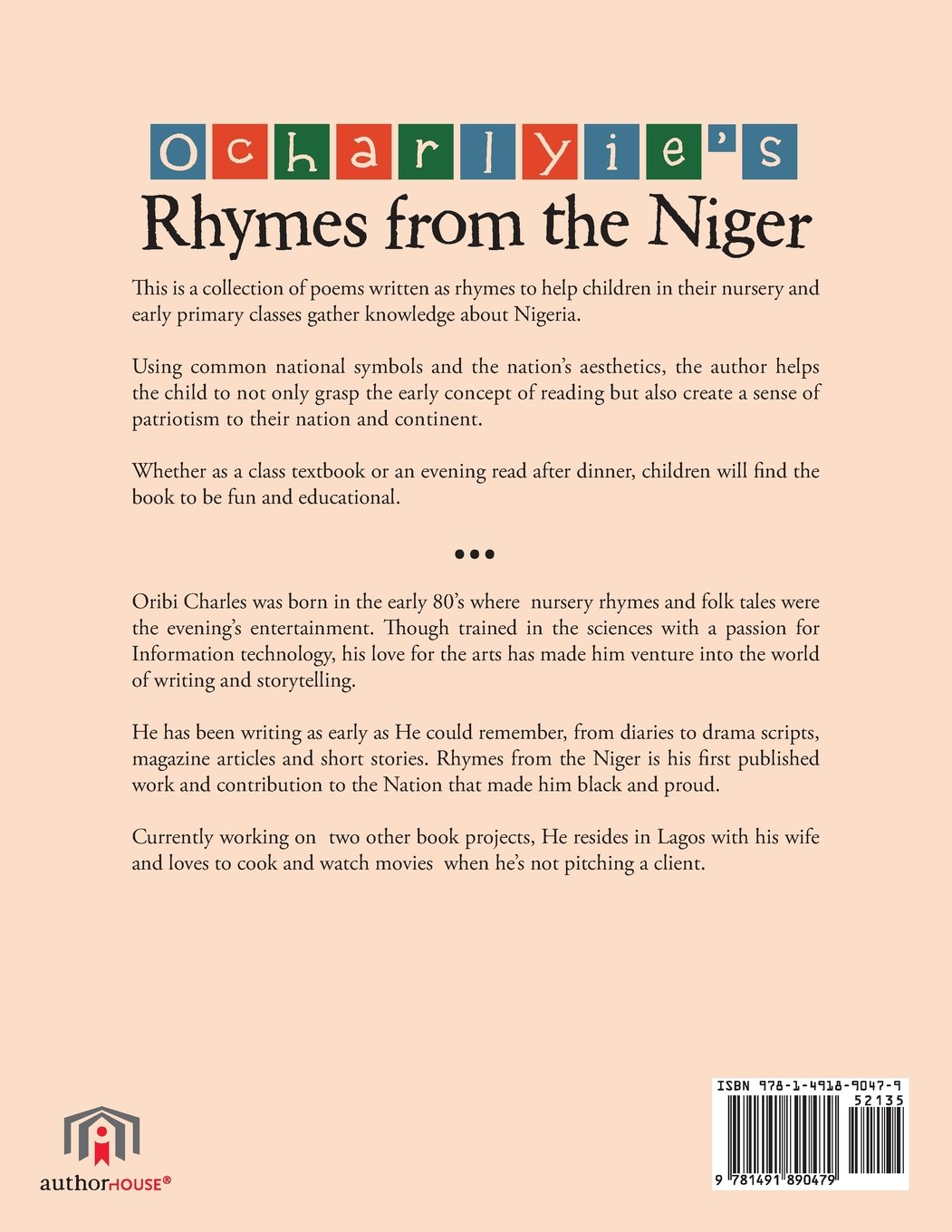 Ocharlyie\'s Rhymes from the Niger: A Collection of Nursery Rhymes ...