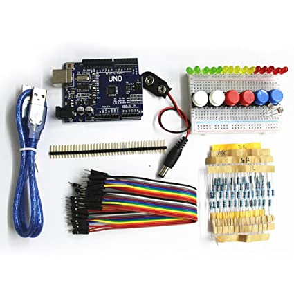 Smart Home Free Shipping 1set New Starter Kit Uno R3 Mini Breadboard Led Jumper Wire Button For Arduino Compatile Discounts Price