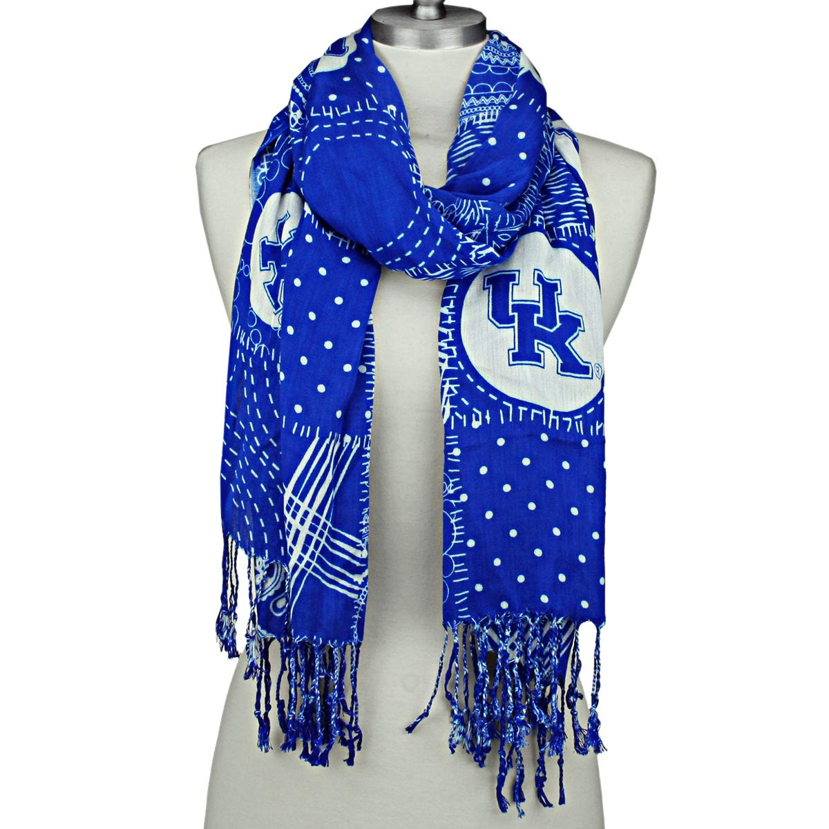 Kentucky Wildcats Mixed Print Scarf