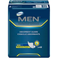 TENA Men Incontinence Protective Guard, Level 2, 48 Count