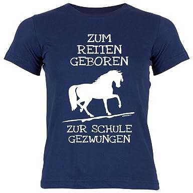 Madchen Kinder Shirt Rubrik Lustige Spruche Hobby Reiten Zum Reiten