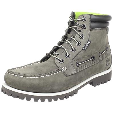 Timberland Men's Oakwell 7-Eye Moc-Toe Boot,Granite Grey,7.5 M