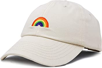 DALIX Rainbow Baseball Cap Womens Hats Cute Hat Soft Cotton Caps fc9c2572e5be