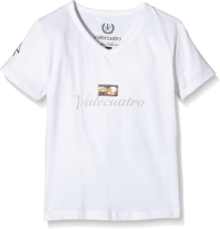 Valecuatro Camiseta Manga Corta Blanco 6 años (116 cm ...