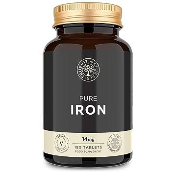 Tabletas de Hierro 14mg 180 Comprimidos - El mejor ...