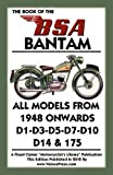 BOOK OF THE BSA BANTAM ALL MODELS FROM 1948 ONWARDS
