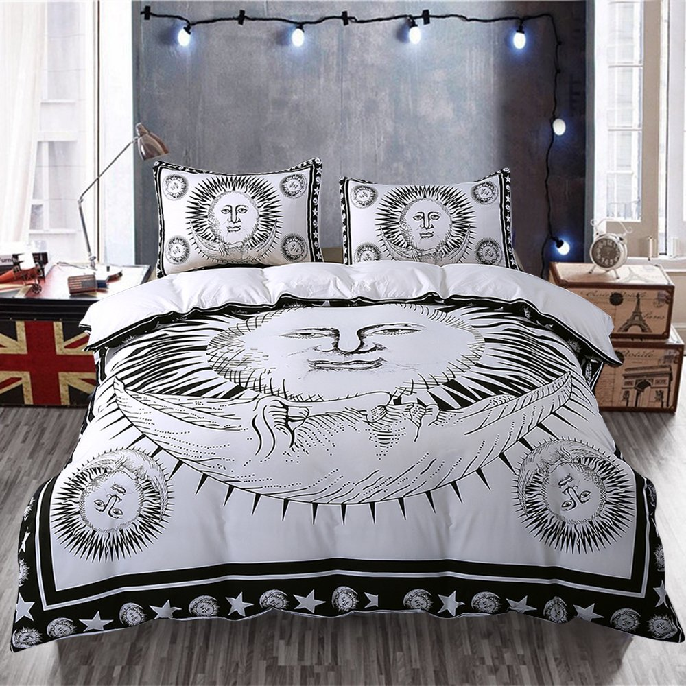 home comforter full cover quilt set reversible style foiled duvet queen covers sale wonderful celestial of amazon size by miller cotton tahari