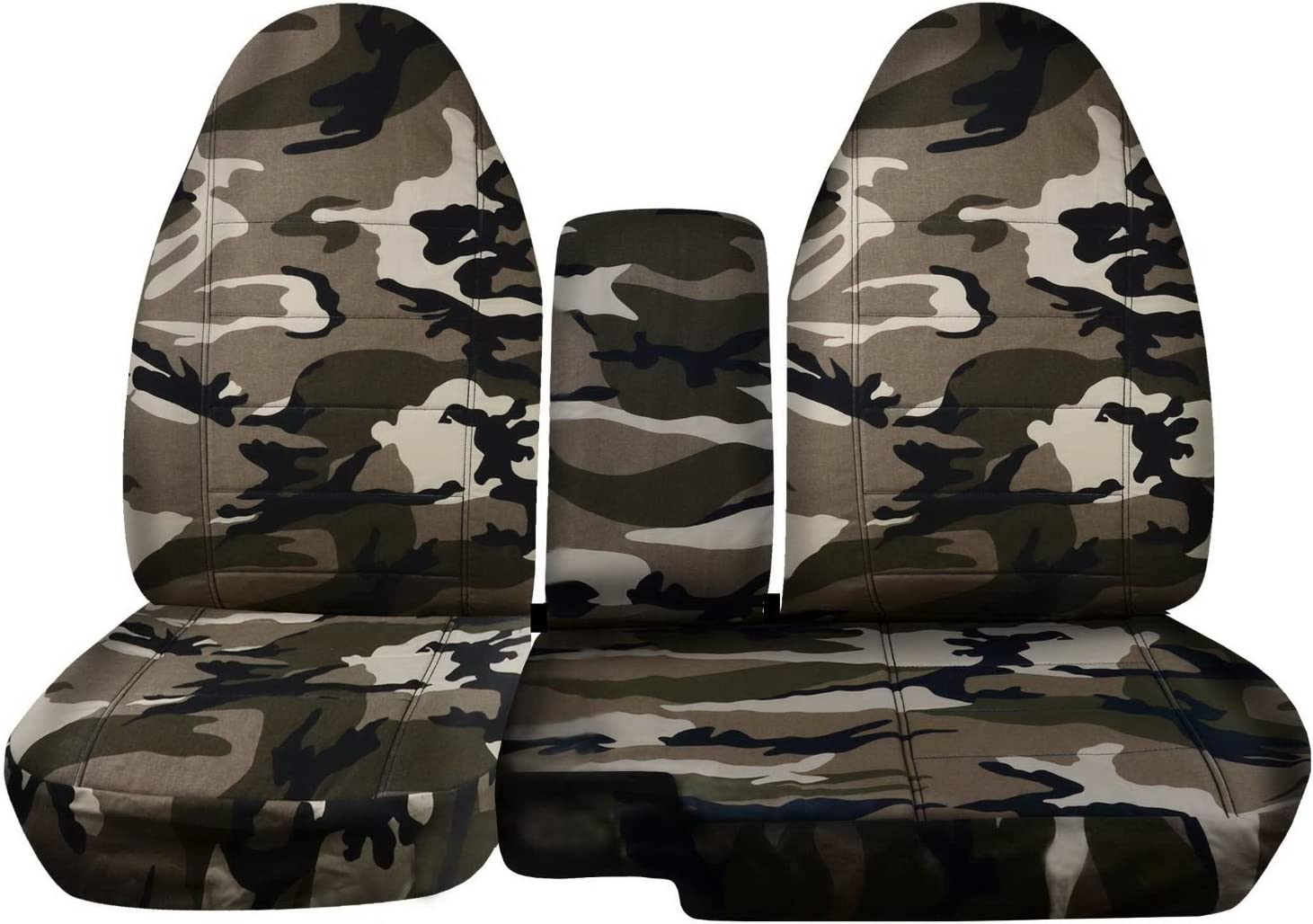 Tan Digital Camouflage 1999 2000 2001 2002 w//wo Cup Holders w Center Console//Armrest Cover 60//40 Split Bench Totally Covers Fits 1998-2003 Ford Ranger//Mazda B-Series Camo Truck Seat Covers