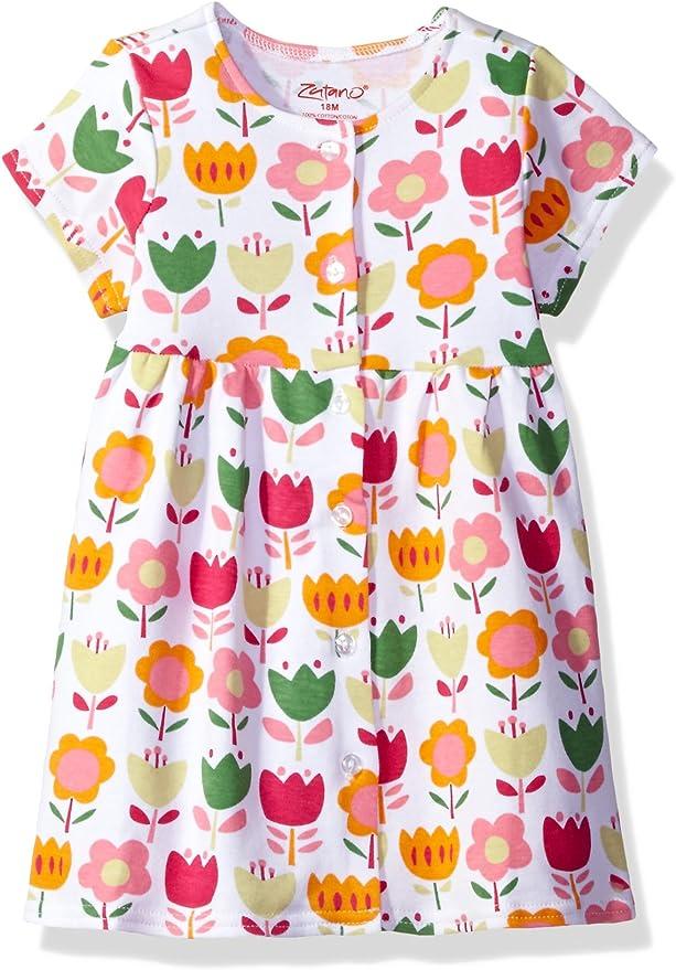 ZUTANO Baby Girl/'s Tank Dress 12M NEW Floral Linnaea 6-12 Months