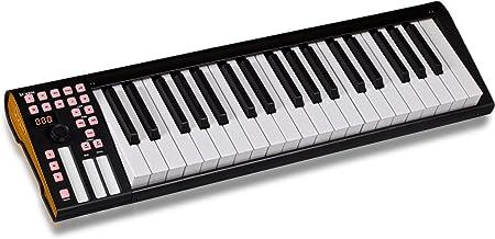 iCON iKeyboard 4 - Teclado MIDI (37 teclas), color negro ...