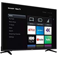 "Sharp Smart TV 58"" 4K LC-58Q7370U (Renewed)"