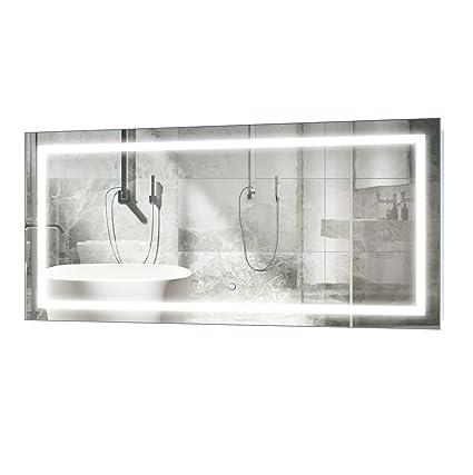 Amazon Com Krugg Large 48 Inch X 24 Inch Led Bathroom Mirror