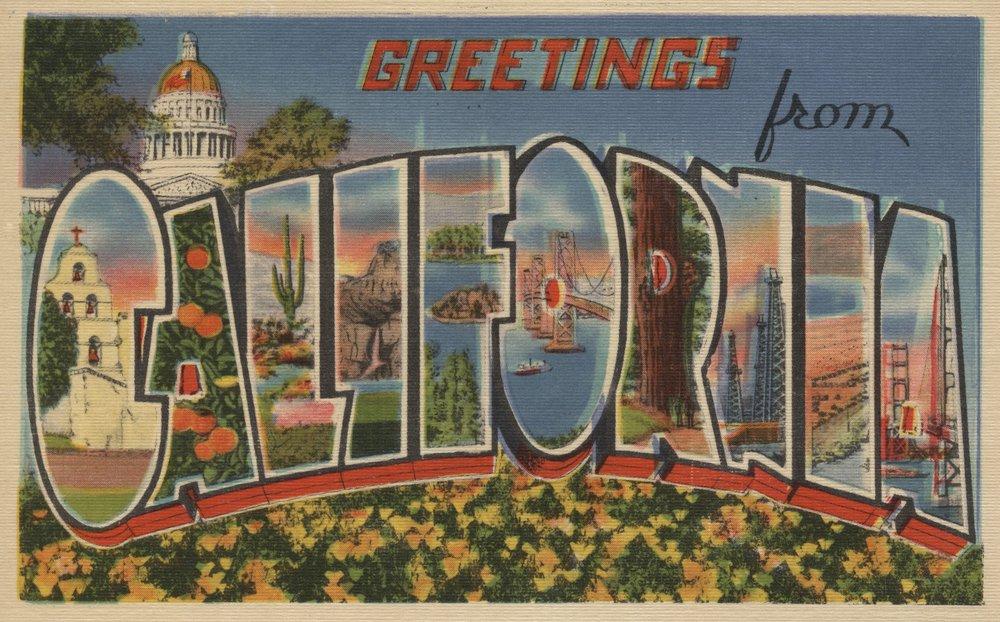 Greetings from California Stateビュー Stateビュー Print 24 x 36 Giclee B017ZIZA0E Print LANT-6154-24x36 B017ZIZA0E 24 x 36 Giclee Print, mellow.store:687792e4 --- bulkcollection.top