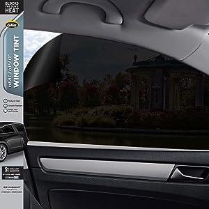 Gila Heat Shield 5% VLT Automotive Window Tint DIY Heat Control Glare Control Privacy 2ft x 6.5ft (24in x 78in)