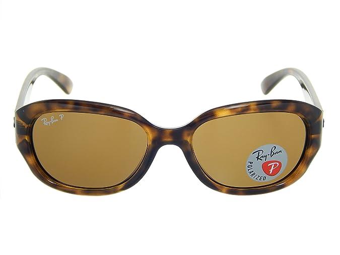 c0ba766fc78 Ray Ban Highstreet RB4198 710 57 Havana Brown Polarized 55mm Sunglasses   Amazon.ca  Shoes   Handbags