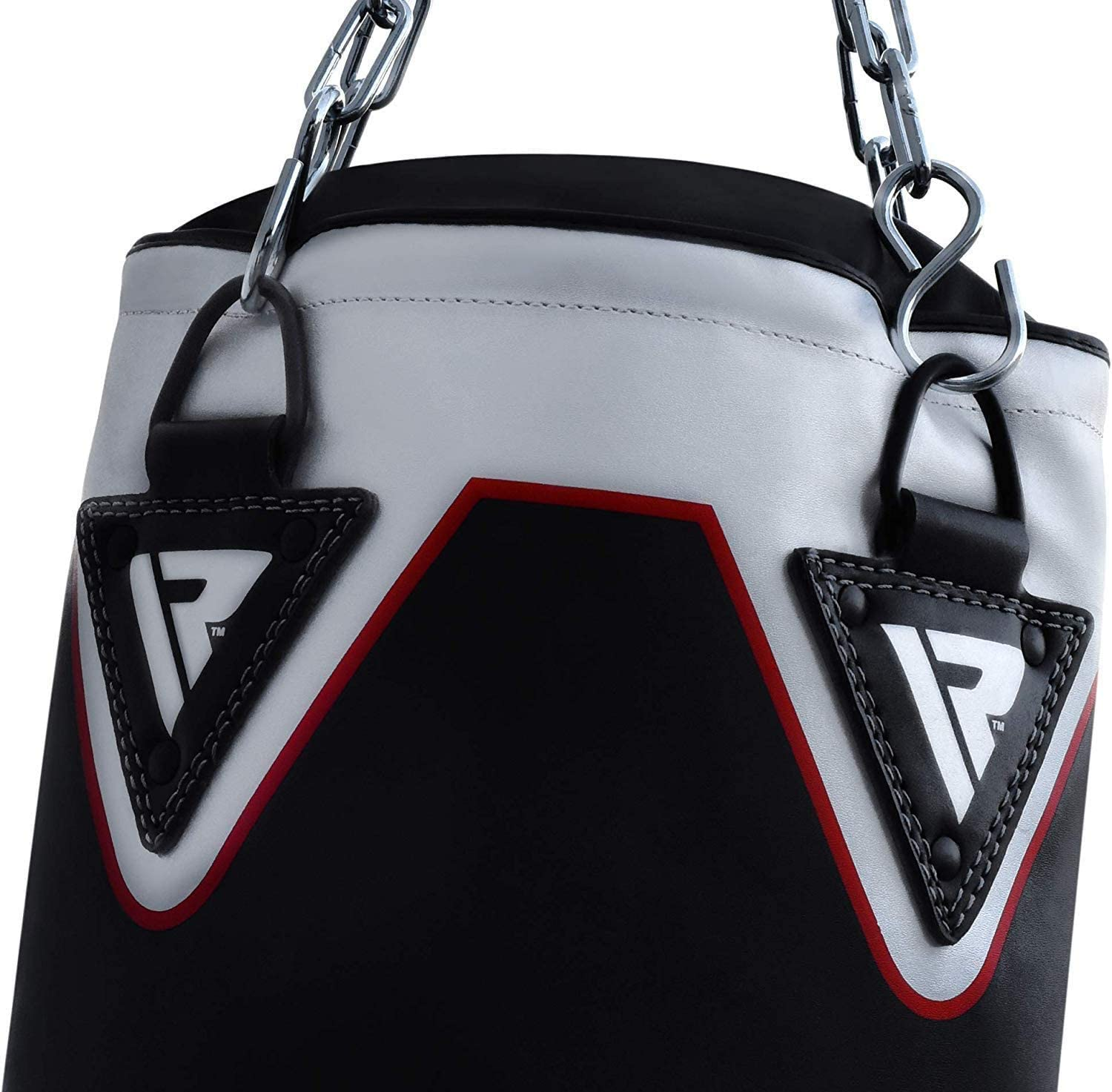 Kickboxing MMA Chain 4 pcs Comes In 4FT//5FT Filled Heavy Bag Set with Punching Gloves Muay Thai BJJ /& Taekwondo Karate RDX Punch Bag for Boxing Training Great for Grappling Wall Bracket