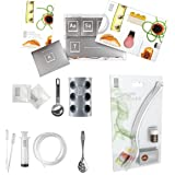 Molecule-R CUISINE AROMA COMBO Molecular Gastronomy Kit AND AROMAFORK with CHOCOLATE Volatile Flavouring Enhancing - Special Double Pack