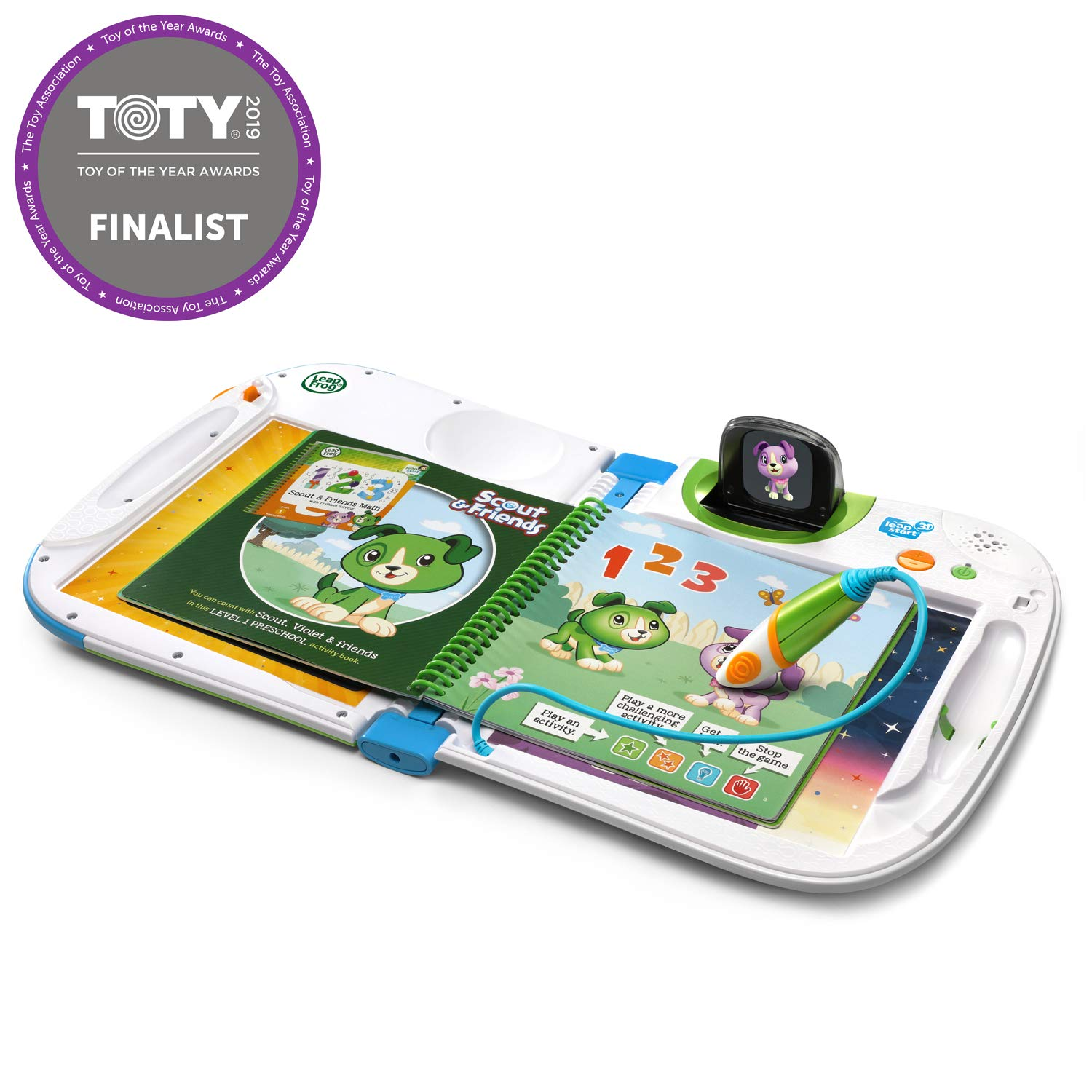 LeapFrog LeapStart 3D Interactive Learning System (Frustration Free Packaging), Green by LeapFrog (Image #1)