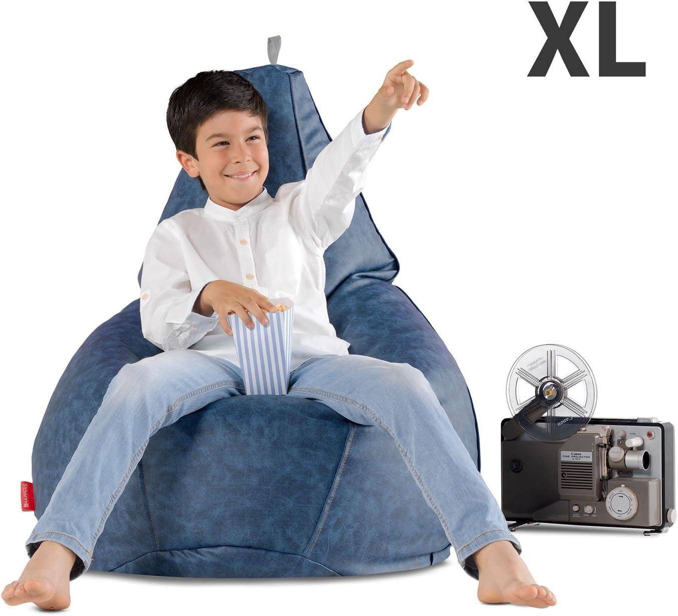 HAPPERS Puff Pera Estampado para ni/ño Comic XL