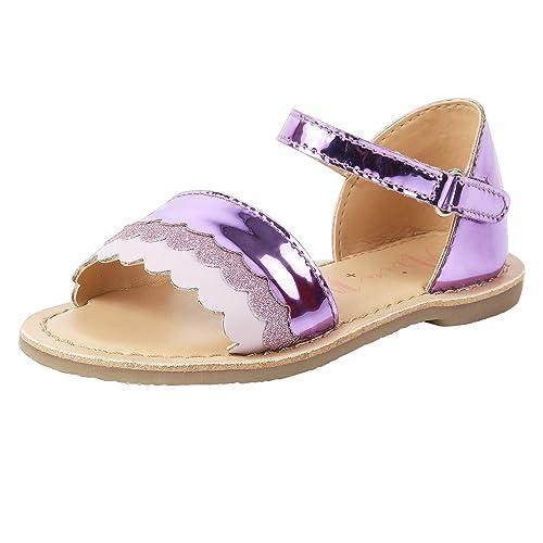 Buy Aria Nica Wave Purple Leather Kids