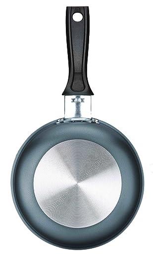 Tramontina - Sartén pequeña de 13 cm de diámetro, color metálico ...
