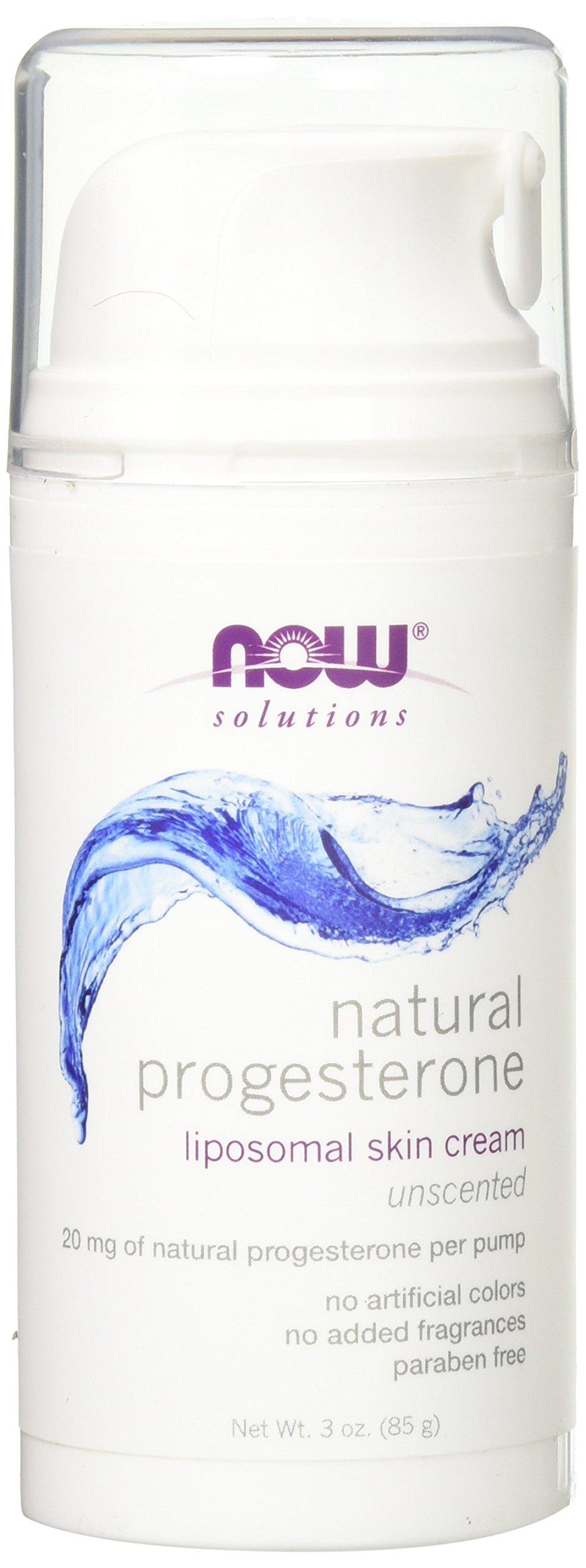 NOW Progesterone Cream, 3-Ounces