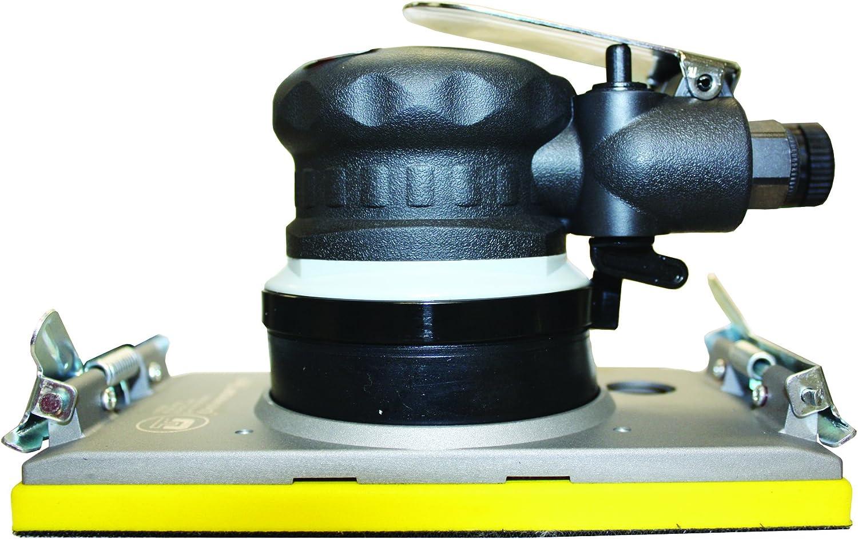 Universal Tool UT8791 3//16-Inch Orbital Jitterbug Air Sander with 4-Inch by 6-Inch Pad