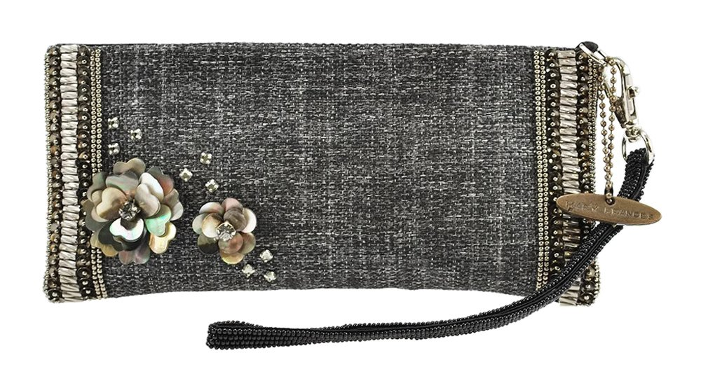 Mary Frances Lucca Eye Glass Case Wristlet