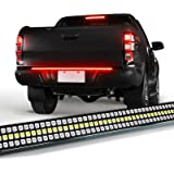 "OPT7 48"" Redline Triple LED Tailgate Light Bar w/Sequential RED Turn Signal - 780 LED Solid Beam - Weatherproof No Drill Inst"