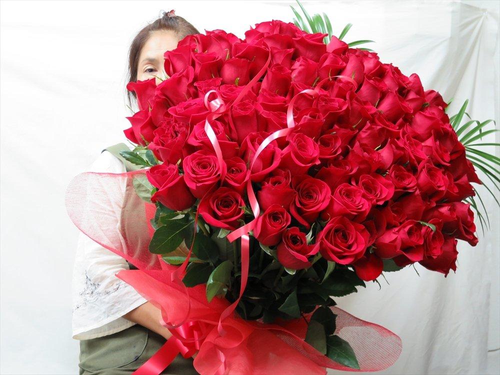 51本 バラ 花束 誕生日 プレゼント 女性 B00P26C0FU 51