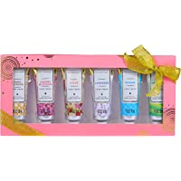 Spa Luxetique Shea Butter Hand Cream Gift Set for Women, 6 Travel Size (1oz each) Nourishing Hand Cream Set with Natural…