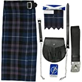 Tartanista - Ensemble kilt - tartan Honour of Scotland - kilt/sporran/épingle/flashes