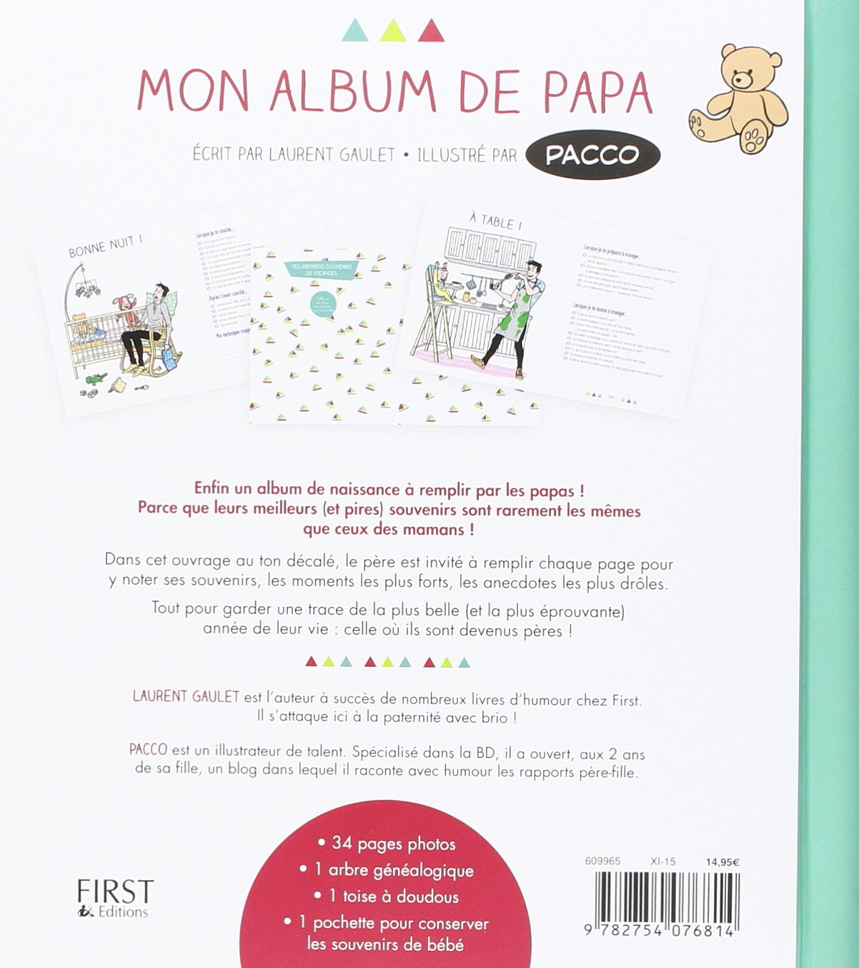 Bien-aimé Amazon.fr - Mon album de papa - Laurent GAULET, PACCO - Livres TY81