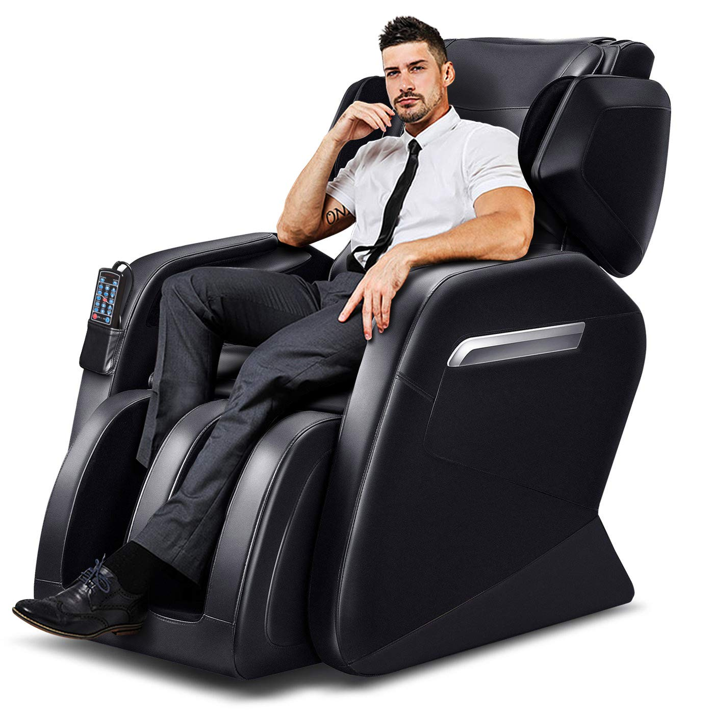 Stupendous Tinycooper Massage Chairs By Ootori Zero Gravity Massage Chair Full Body Massage Chair With Lower Back Heating And Foot Roller Black Dailytribune Chair Design For Home Dailytribuneorg